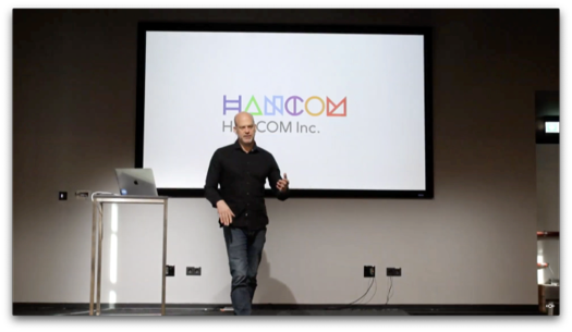 Frank introduces the partnership with Hancom